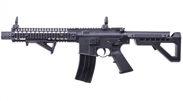 CROSMAN-DPMS-SBR-4.5mm-CO2-GAS-RIFLE-FULL-AUTO-BLOWBACK