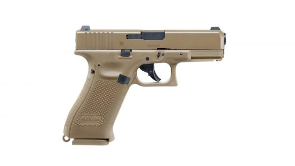 UMAREX-GLOCK-19-X-TAN-4.5mm-STEEL-BALL-CO2-GAS-GUN-BLOWBACK