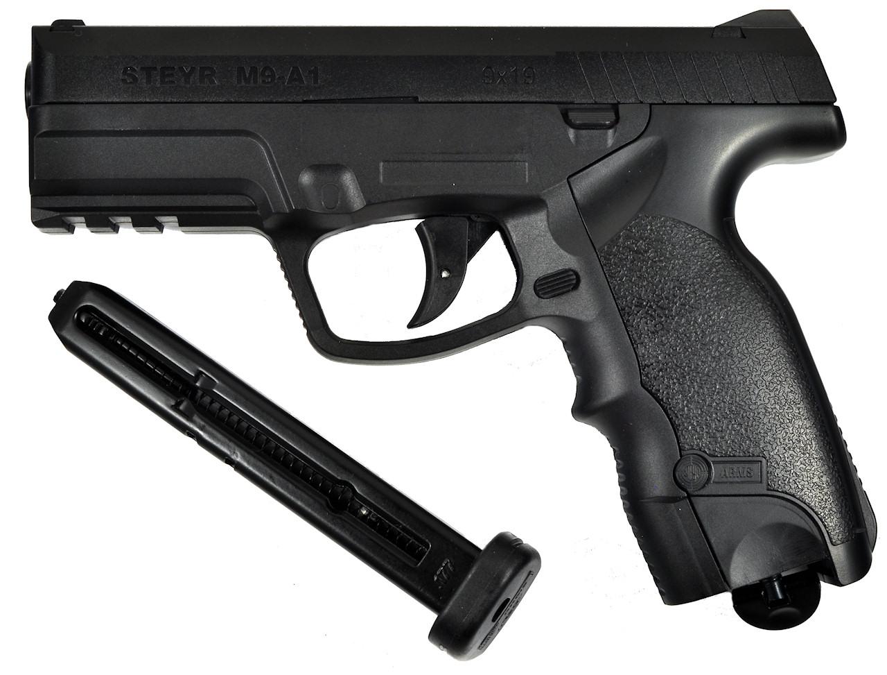 ASG MANNLICHER STEYR M9 A-1 4 5mm STEEL BALL CO2 GAS GUN NON-BLOWBACK