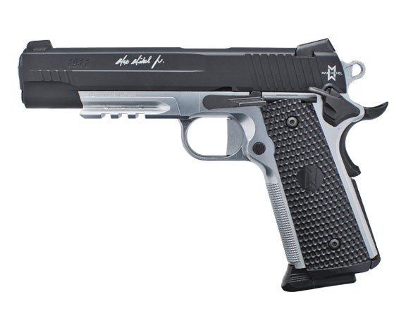 SIG-SAUER-1911-MAX-MICHEL-4.5mm-STEEL-BALL-CO2-GAS-GUN-BLOWBACK