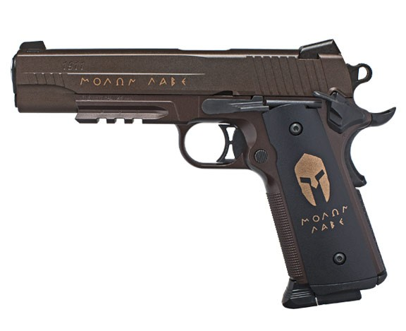 SIG-SAUER-1911-SPARTAN-4.5mm-STEEL-BALL-CO2-GAS-GUN-BLOWBACK