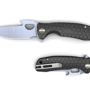 HONEY-BADGER-FOLDING-KNIFE-OPENER-BLADE-BLACK