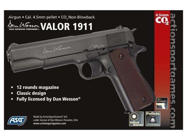 ASG-DAN-WESSON-VALOR-CO2-GAS-4.5mm-PELLET-PISTOL