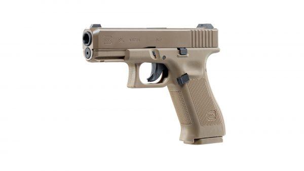 UMAREX-GLOCK-19-X-TAN-4.5mm-STEEL-BALL-CO2-GAS-GUN-NON-BLOWBACK