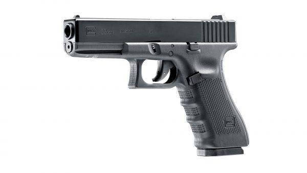UMAREX-GLOCK-22-4.5mm-STEEL-BALL-CO2-GAS-GUN-NON-BLOWBACK-FIXED-SLIDE